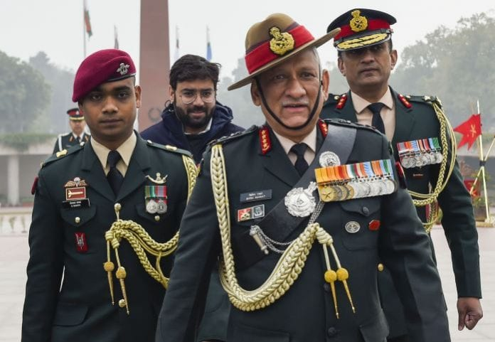 Chief of Army Staff, General Bipin Rawat, Chief of Defence Staff, thanks soldiers, Army, Navy, Air Force, guard of honour, National War Memorial