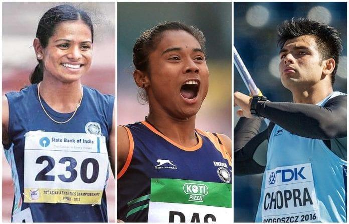 track and field athletes, Indian athletics, Olympics, Neeraj Chopra, Dutee Chand, coronavirus, COVID-19, Lockdown