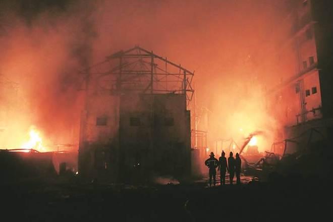 chemical factory, blast, explosion, Maharashtra, Boisar, sound, eight killed, injured, compensation, NDRF, rescue