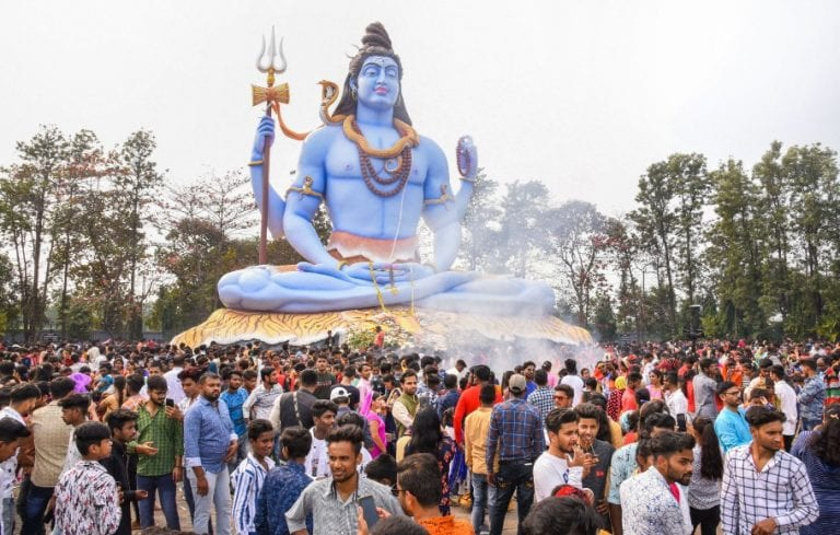 Images: Festive fervour grips devotees, heavy rush in temples on Maha Shivratri