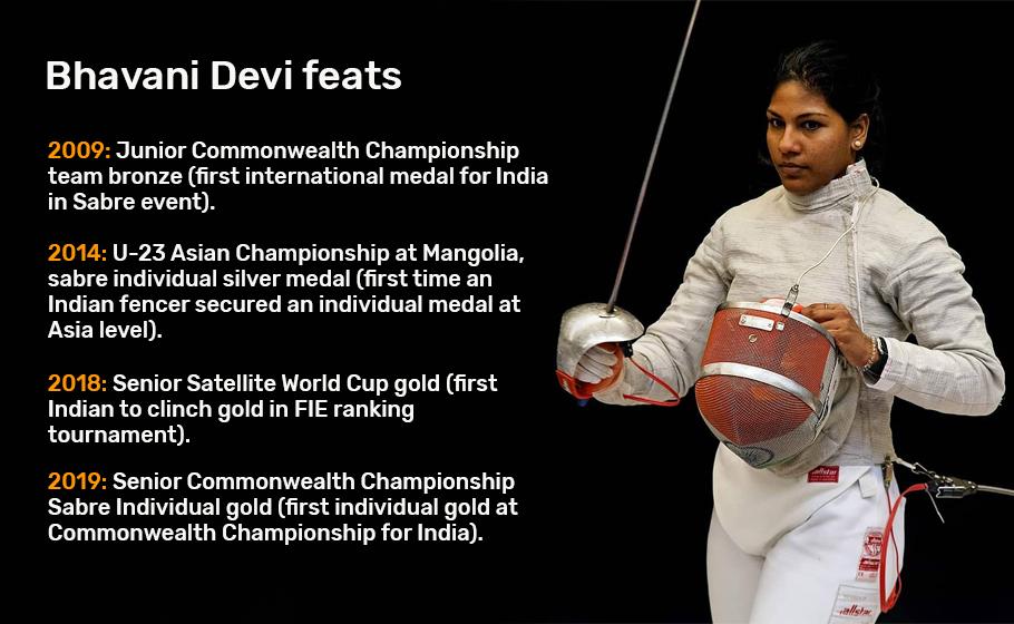Bhavani Devi, Fencing, 2020 Tokyo Olympics, Rio Olympics