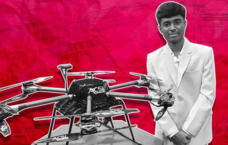 How India's 'drone boy' crash-landed